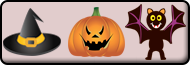 Online Coloring - How to use the Halloween (Pumpkins, Ghosts, Spooky) Category Coloring Tool