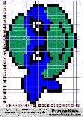 TMNT Face Melting Pearl Pattern - tmnt pattern