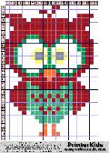Owl #18 - Animals - animal pattern