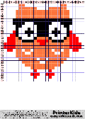 Owl #20 - Simple animals - owl pattern