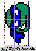 TMNT: Face wink  - tmnt pattern