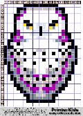 Owl #37 - Snow - Animals - animal pattern