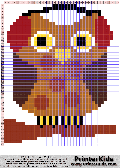 Owl #31 - Ear warmers - Animals - animal pattern