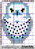 Owl #38 - Snow - Animals - animal pattern