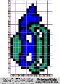 TMNT - Big Smiling Face - tmnt pattern