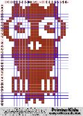 Owl #42 - Animal - animal pattern