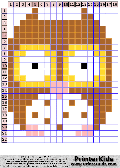Owl #47 - Simple Animals - owl pattern