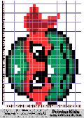 TMNT Pearl Face Pattern - tmnt pattern
