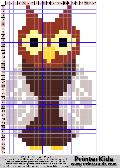 Owl #50 - Animal - animal pattern