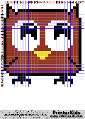 Owl #57 - Simple Animals - owl pattern
