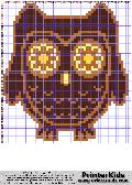 Owl #65 - Animals - animal pattern