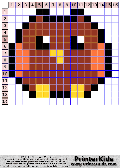 Owl #66 - Simple Animals - owl pattern