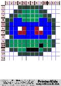 TMNT Super Simple Chibi Face #3 - tmnt pattern