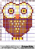Owl #72 - Animals - animal pattern