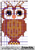 Owl #73 - Animals - animal pattern