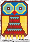 Owl #74 - Animal - animal pattern