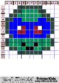 TMNT Super Simple Chibi Face #1 - tmnt pattern