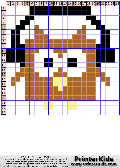 Owl #93 - Simple Animals - owl pattern