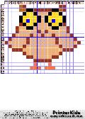 Owl #105 - Animals - animal pattern