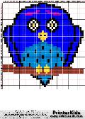Owl #108 - Animals - animal pattern