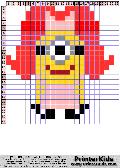 Despicable Me Female Minion - despicable me pattern