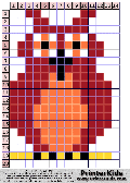 Owl #4 - Simple animals - owl pattern