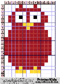 Owl #5 - Simple animals - owl pattern