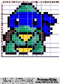 TMNT - Chibi Pearl Pattern - tmnt pattern