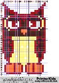 Owl #11 - Animals - animal pattern