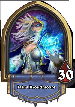 Jaina Proudmoore - The Heartstone Mage Hero