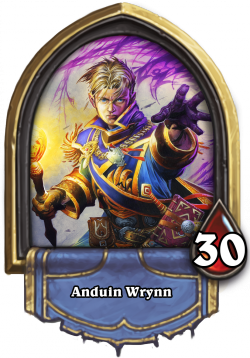 Anduin Wrynn - The Heartstone Priest Hero