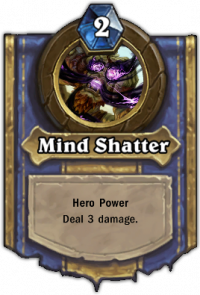 Priest Hero Ability: Mind Shatter