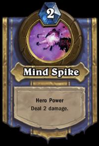 Priest Hero Ability: Mind Spike