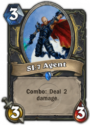 SI:7 Agent, a Rogue class minion card with Combo