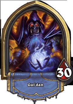 Gul'dan - The Heartstone Warlock Hero