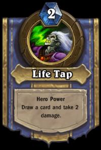 Warlock Hero Ability: Life Tap