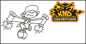 Kids Next Door Coloring Pages