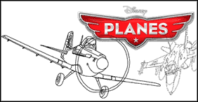 Disney Pixar Planes Coloring Pages