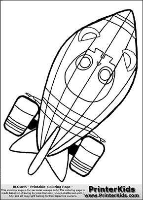 Bloons TD5 - ZOMG #2 - Coloring Page