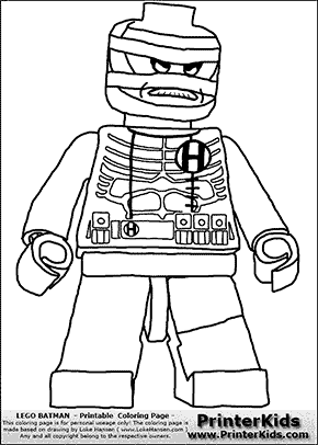 Lego Batman - Hush - Coloring Page