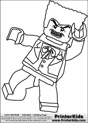 Lego Batman - The Joker - Coloring Page