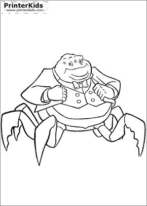 Monsters Inc. Coloring Pages