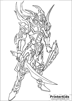 Yu-Gi-Oh Coloring Pages