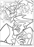 Use The Door - Batman coloring page