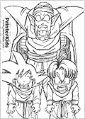 Dragon Ballz coloring page