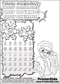 Coloring and letter practice page (the letter S) with Abbey Bominable from Monster High. Practice drawing, writing and coloring the letter S in different shapes and sizes. Customize the ABBEY BOMINABLE letters and have fun with the coloring page while practicing on the tricky letter S.   This printable colouring sheet show Abbey Bominable up close with a pair of cool skiing glasses. This Abbey Bominable Monster High colouring page was found at several blogs, fan sites and via public image search. No author details were available with the coloring page.