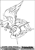 Coloring page with Whirlwind from skylanders. This printable colouring sheet show the amazing winged Whirlwind skylander in all its glory. Print and color this Skylanders Whirlwind page that is drawn the Skylanders artist I-Wei Huang (http://crabfuartworks.blogspot.com) and made available via the artist blog for free printing and download. The fantastic master sketch has been clipped, cut and cleaned by Loke Hansen (http://www.LokeHansen.com). Skylanders Whirlwind storyline: Whirlwind is an air dragon with unicorn ancestry � two species that could not be more opposite in nature, which made her never quite fit in with either group.  Other dragons were envious of her beauty, while unicorns shunned her for her ability to fly.  But Whirlwind found peace within the dark and stormy clouds, where she learned to harness the tempest power within her.  Despite her turbulent youth, she was the first to defend both dragons and unicorns when the trolls began hunting them, unleashing her ferocity in a brilliant and powerful rainbow that could be seen throughout many regions of Skylands.  From that day forward, evil-doers would quake when dark clouds brewed, and run from the rainbow that followed the storm.