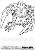 Coloring page with Sunburn from Skylanders. This Skylanders coloring page with Sunburn is designed with a Sunburn coloring figure on the top of the page, and two lines with letters below the character. The Skylanders name - stealth-elf- is shown on both lines with letters that have dotted lines. The Sunburn letters are blank inside so that the letters can be used for coloring or so that the actual letter can be drawn on top of the dotted lines. The top line is shown with a dark black dotted line and the bottom line of letters is shown in  light gray color so that is is harder to see.