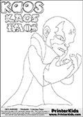 Skylanders Swap Force - Kaos - Coloring Page 2 Editors Choice