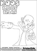 Skylanders Swap Force - Kaos - Coloring Page 5 Editors Choice
